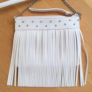 Justice girls purse fringe gems bling adjustable